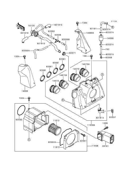 kawasaki zephyr 1100 wire diagram  kawasaki  wiring